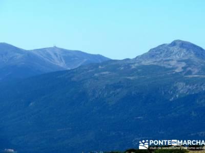 Bola del Mundo y Peñalara desde Pico del Nevero - Alto de Guarramillas; nacimiento del jucar